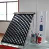 Solar concentrator for solar hot water Split Vacuum Solar Collector with heat pipe