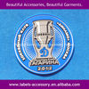 Lovely 3D embossed PVC patch