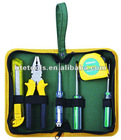 6pcs house tool set,canvas bag tool set