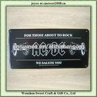 black aluminum any logo blank license plates