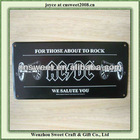 black aluminum any logo blank license plates