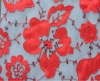 Trendy Design Laser Embroidery Fabric