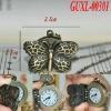 Unique cheap butterfly elegance pocket watch2012