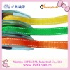Saddle stitch grosgrain ribbon