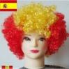 Party plastic wigs Football wigs Fan wig Synthetic wigs