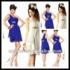CD174 New Design One-shoulder Ruffled Short Chiffon Cocktail Dress 2012