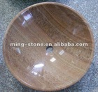 Popular polished marble basins