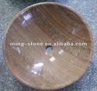 Popular polished marble basins