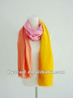 silk and wool ombre scarf