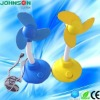 mini colorful bladeless plastic usb fan for laptop cooling