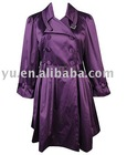 Satin Glamour Coat