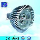 12V 3*1W edison mr16 cabinet spot led power light fixture