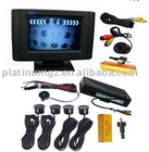 Desktop 2.5-inch TFT Monitor 4 parking sensor,1 parking camera automatically wake-up