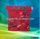 polyester knitted digital direct printing fabric banner and towels