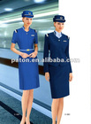 Elegant Airline Stewardess Uniform 2012 fashion airline uniform for stewardess