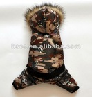 Cotton Cool Male Dog Hoodies with four legs design