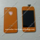 For iphone 4g LCD display,touch screen,back cover,home button