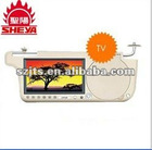 7 inches Car Sunvisor monitor DVD Player with SD/USB/FM/TV(FD-DVD-7701TV)