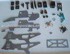 carbon fiber RC helicopter parts