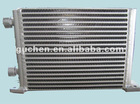 Aluminum plate fin heavy machinery heat exchanger
