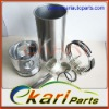 ISUZU Diesel Piston Rings 4LE2 Cylinder Liner Kits