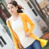 Nice Cardigan Knit Sweaters Designs 2012 for Girls