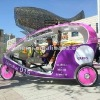Multifunctional electric tricycles