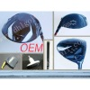 2012 Newest design Titanium best selling golf driver golf club factory price