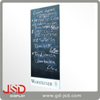 single side wood menu blackboard