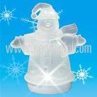 7-Color Light-up Snowman Candle