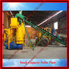 Flat Die Pellet Press Plant for wood biomass (0086-13838158815)