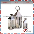 stainless steel candle lantern some sizes