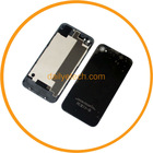 For iPhone 4S Battery Cover Back Door Rear Glass Black Complete Set OEM