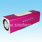 Aluminum multi-function Docking speaker for iPhone/iPod