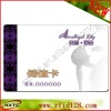 13.56MHZ transparent vip card