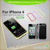 plastic battery case for iPhone 4 (Apple MFI is optional)