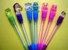 lovely led flashing light animal pen for promotion