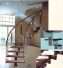 steel wood staircase