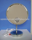 Makeup mirror with light