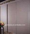 2011 hot Meijia clear louver pvc cabinet door