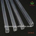 CE quality Clear square quartz glass tubes 99.95%