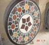 marble medallion pattern tile