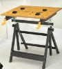 Wooden Workbench with Three Table Board
