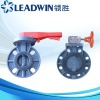 DIN and ANSI PVC Butterfly Valves