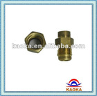 brass bolt and nut use for heating equipment