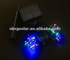 solar led christmas light chain