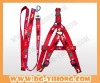 2012 fashionable and charm dog leash and harness in different designs