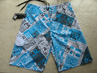 2012 DC Awesome Mens Boardie Shorts BoardShorts DC1#blue SZ 30-38