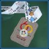 Nickel colored metal sourvenir medal