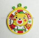 Soft PVC pin badge